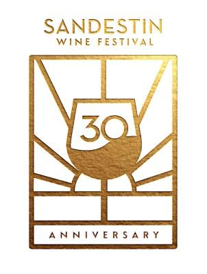 30th Sandestin Wine Festival Logo