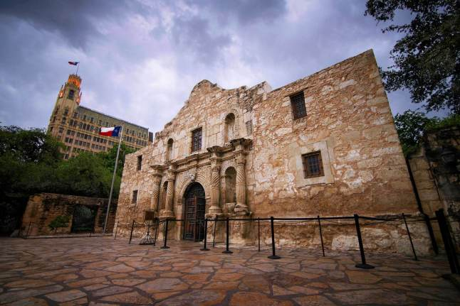 A view of the immortal Alamo, in downtown San Antonio, Texas © Adam Stocker - 500px