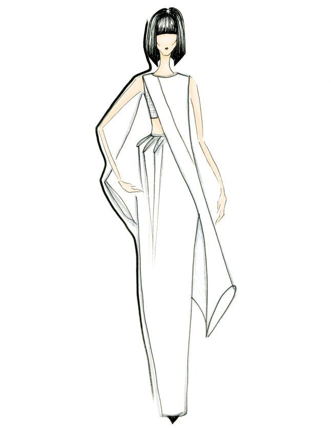 Alejandra Isunsa sketch