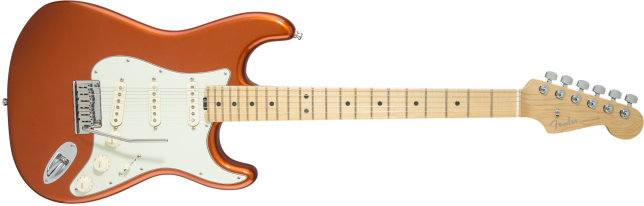 American Elite Stratocaster Autumn Blaze Metallic