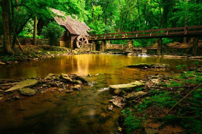 An old mill in Mountain Brook, a suburb of Birmingham Alabama © Robbie Brewer - 500px