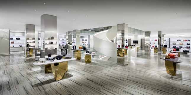 Barneys New York Downtown Flagship - Ground Floor. Photograph by Scott Frances