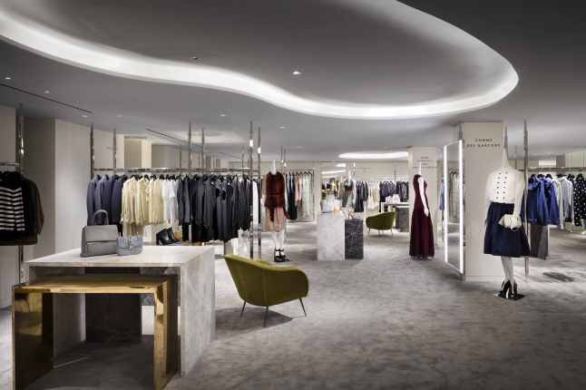 Barneys New York Downtown Flagship - Womens Second Floor. Photograph by Scott Frances