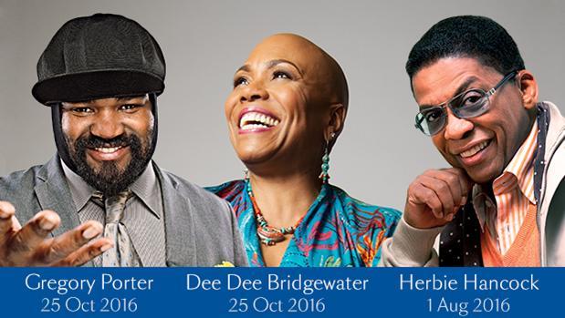 Blue Note Jazz at Sea in 2016 - Gregory Porter, Dee Dee Bridgewater and Herbie Hancock