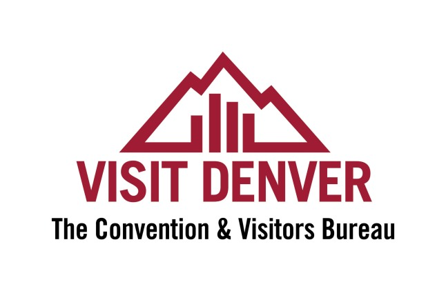 VISIT DENVER, THE CONVENTION & VISITORS BUREAU LOGO
