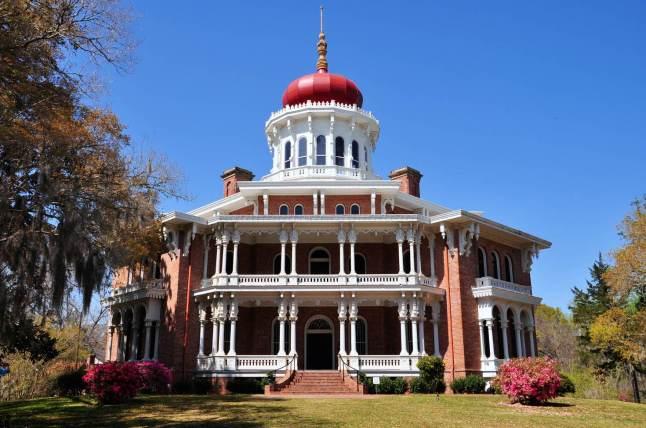 Longwood, the historic antebellum octagonal mansion Natchez, Mississippi © Helmut-Krass- 500px