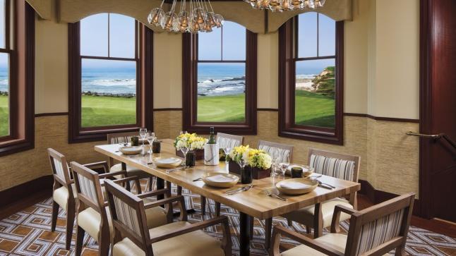 The Private Dining Room at Navio at  The Ritz-Carlton, Half Moon Bay