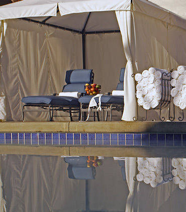 Outdoor Pool Cabana