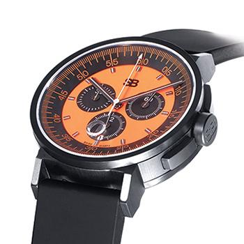 SB Black & Orange Watch