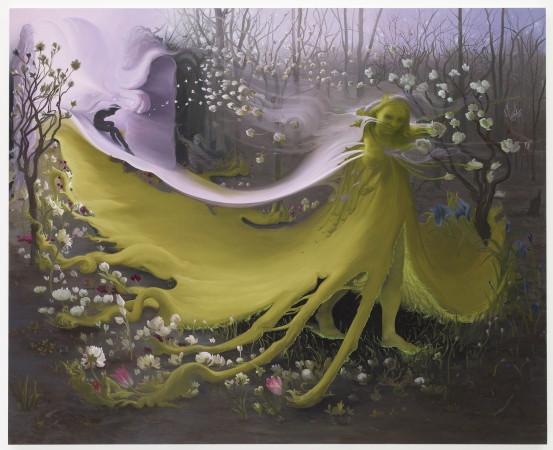 Inka Essenhigh. Green Goddess II, 2009