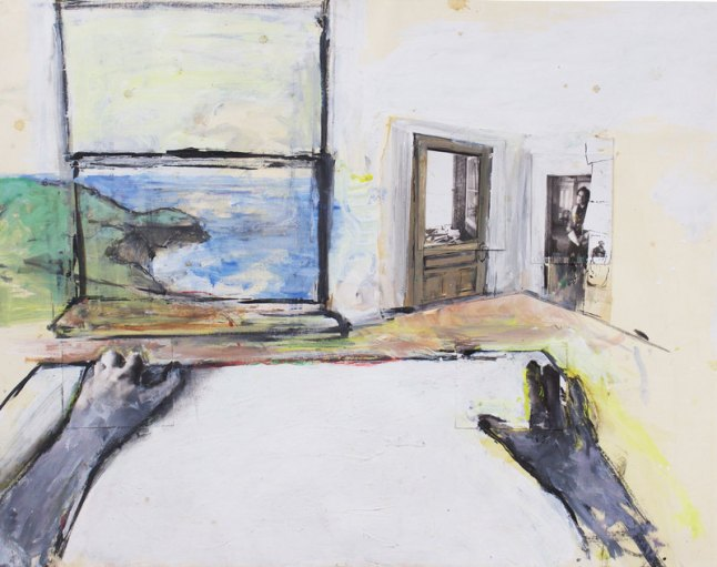 June Leaf (b. 1929), Robert Enters the Room, 1973.