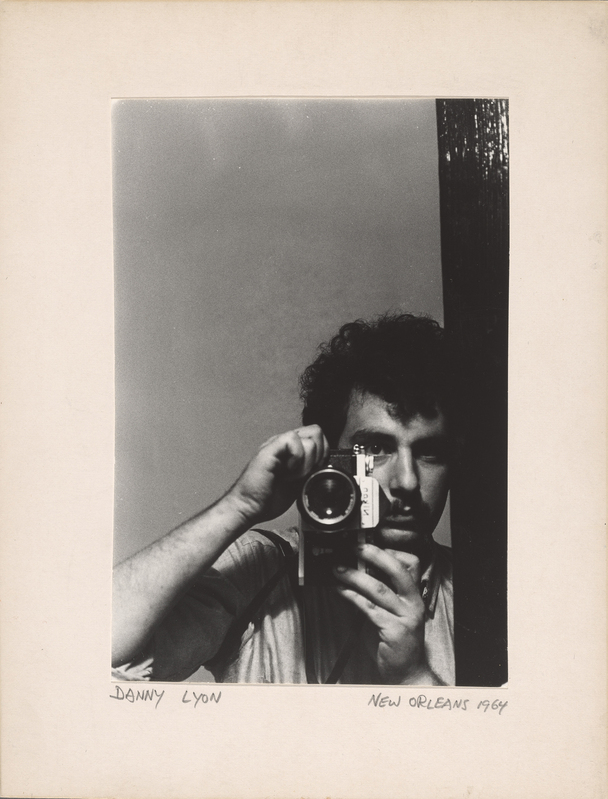 Danny Lyon (b. 1942), Self-portrait, New Orleans, 1964.