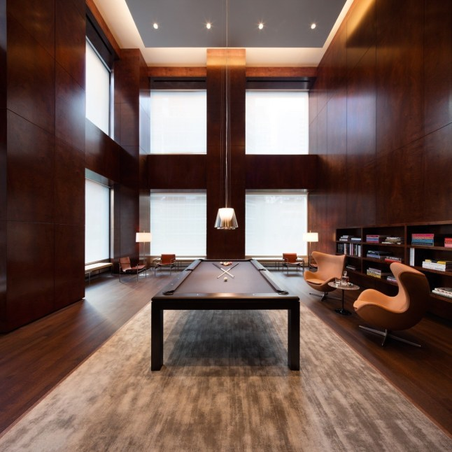 432 Park Avenue-billiards