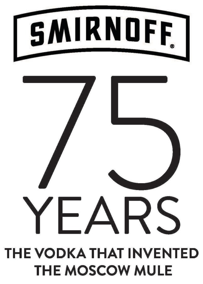 SMIRNOFF 75th Anniversary Moscow Mule Logo