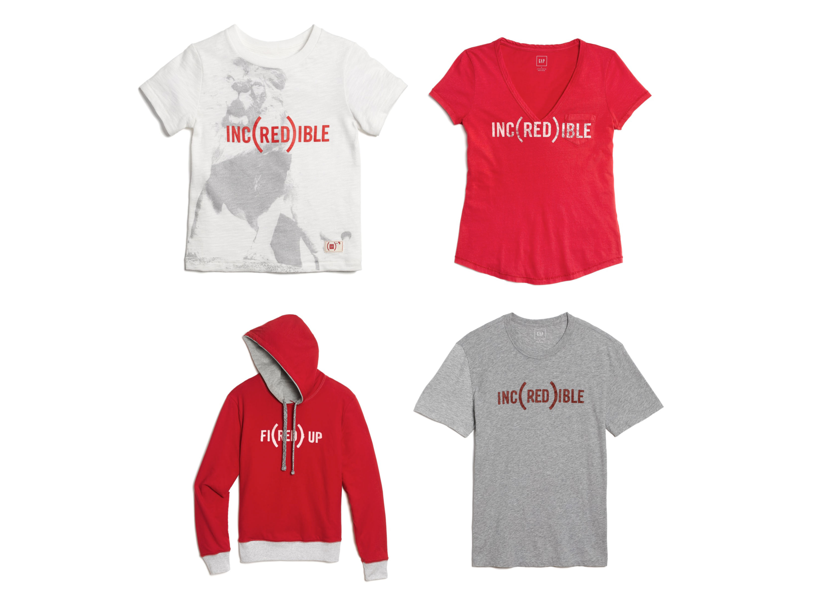 Gap - RED Collection