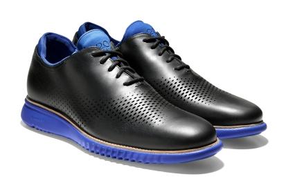 Cole Haan_2.ZER+ÿGRAND Laser Wingtip Oxford_Black Leather_Bristol Blue