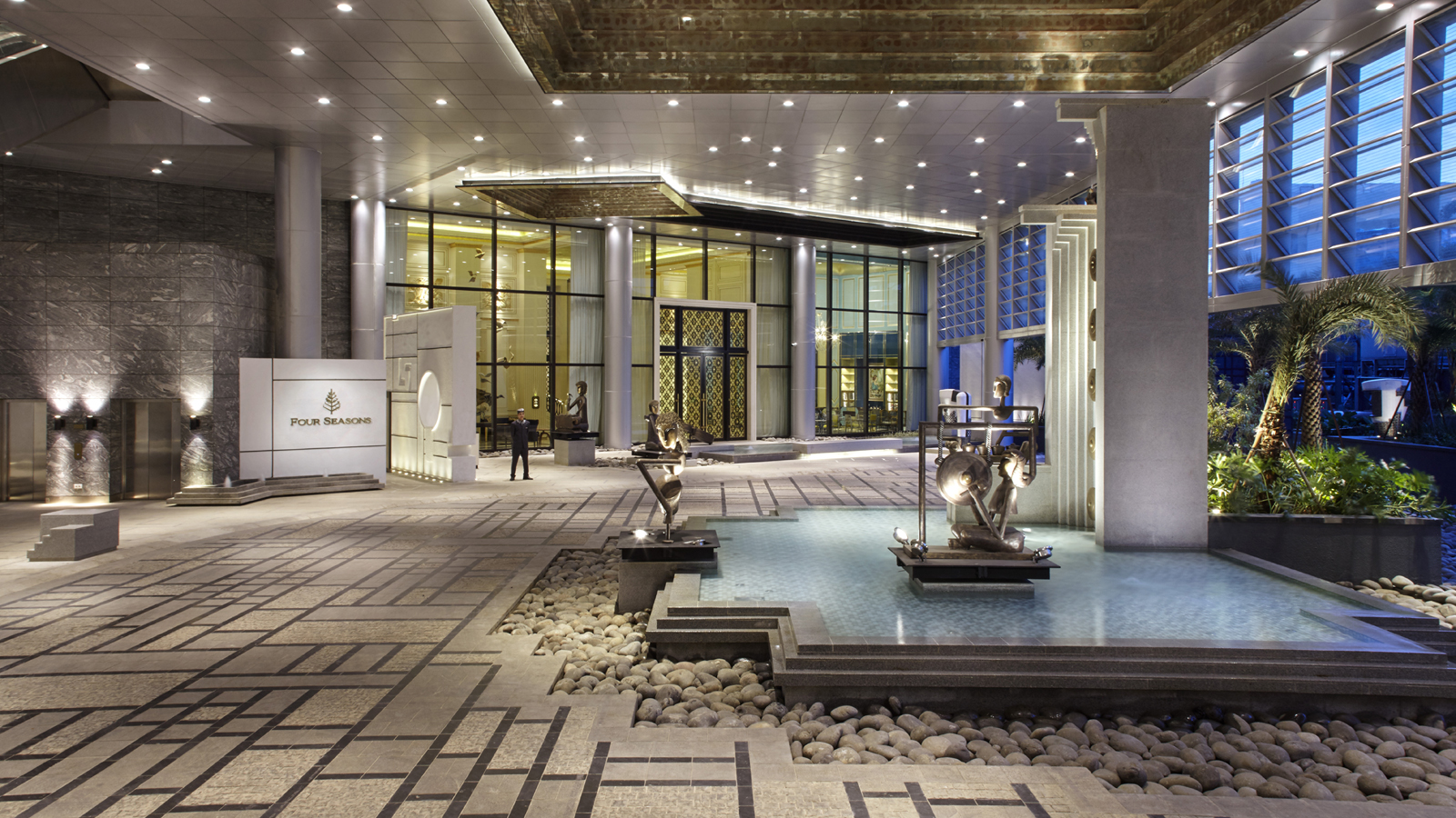 Welcome to the Four Seasons Hotel Jakarta