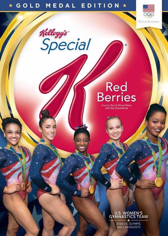 Kellogg Company US Womens Gymnastics Team