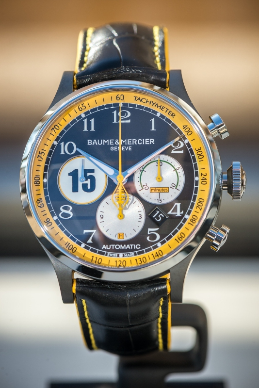 Baume and Mercier racing watch