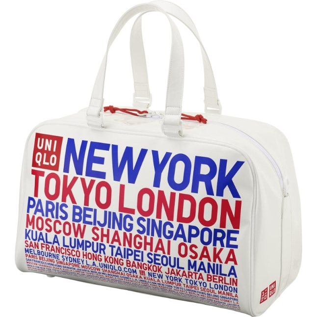 UNIQLO 4 Tennis enamel bag