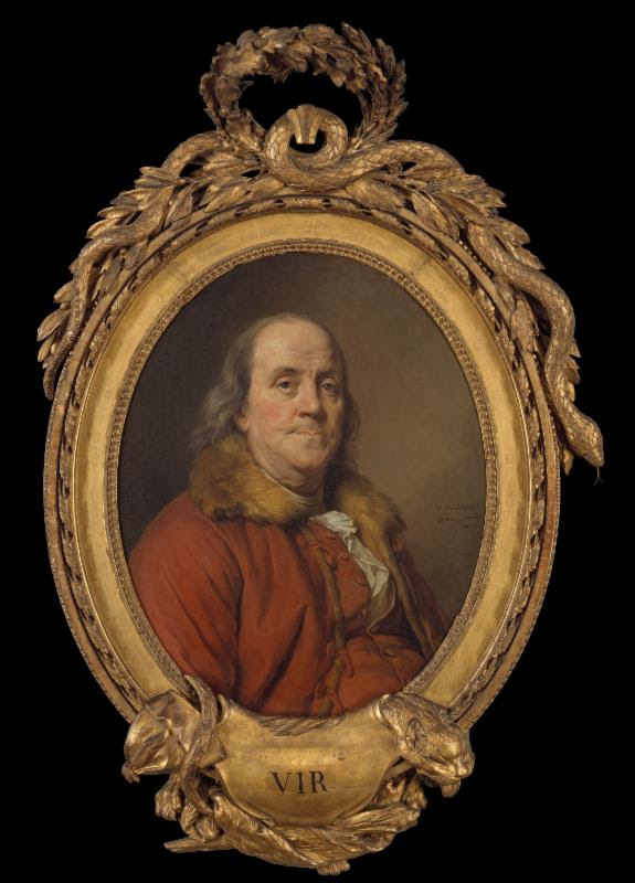 Benjamin Franklin - Portraits by Duplessis,