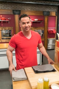 "Contestant Mike ""The Situation"" Sorrentino as seen on Food Network's Worst Cooks in America: Celebrity Edition, Season 9."