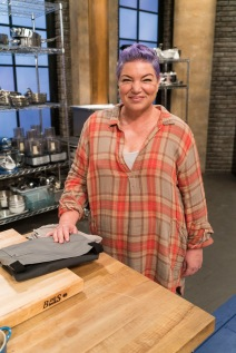 Contestant Mindy Cohn as seen on Food Network's Worst Cooks in America: Celebrity Edition, Season 9.