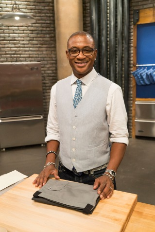 Contestant Tommy Davidson as seen on Food Network's Worst Cooks in America: Celebrity Edition, Season 9.