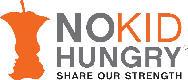SHARE OUR STRENGTH'S NO KID HUNGRY CAMPAIGN LOGO