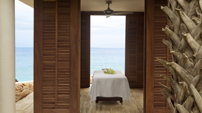 Four Seasons Resort and Residences Anguilla  - Spa Anywhere, especially poolside