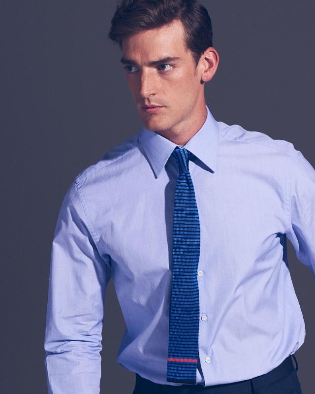 TP-1984 Duke shirt in pale blue