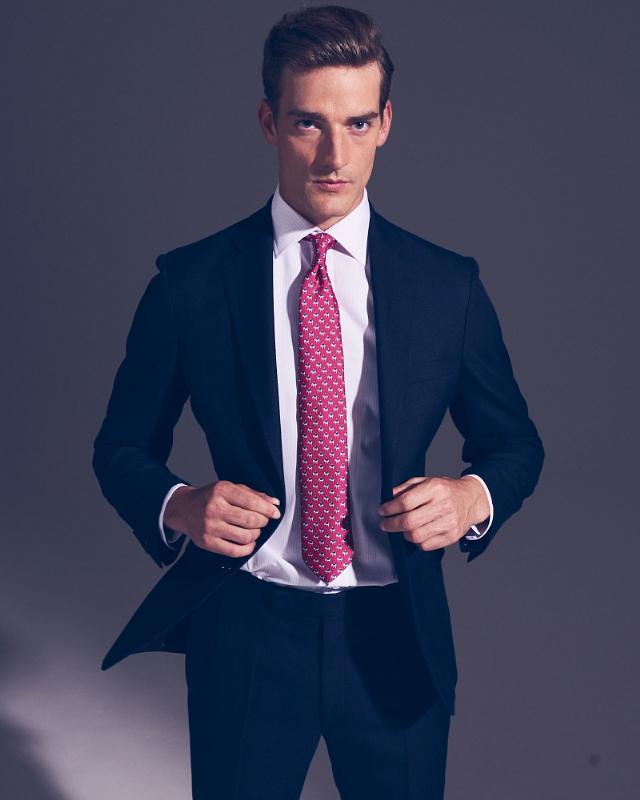 Thomas Pink Bulldog Llewellyn Stripe shirt