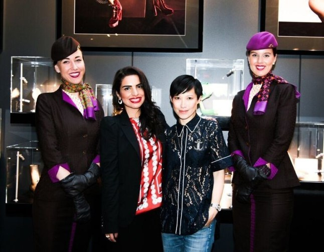 Etihad Airways At NYFW-6
