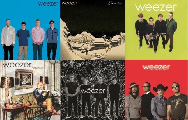 Geffen UMe Weezer Vinyl Reissues