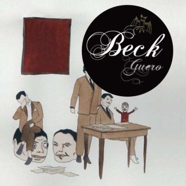 Marcel Dzama: Guero, album cover for Beck