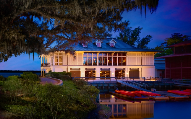 Montage Palmetto Bluff - Canoe Club at Night
