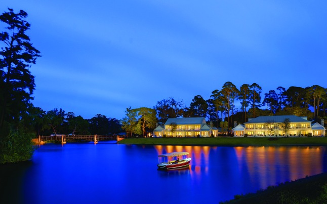 Montage Palmetto Bluff - Guest Houses at Night