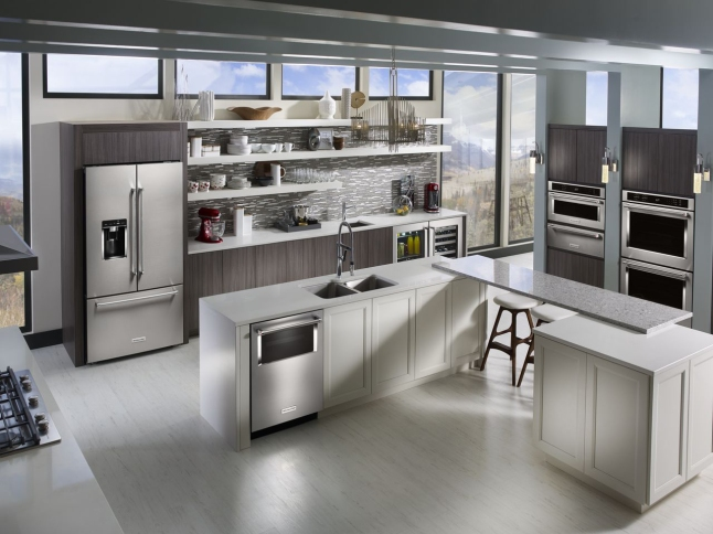 the-new-kitchenaid-three-door-free-standing-refrigerator-has-the-largest-capacity-refrigerator-in-its-class