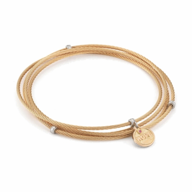 ALOR HOPE Affirmation Bangle