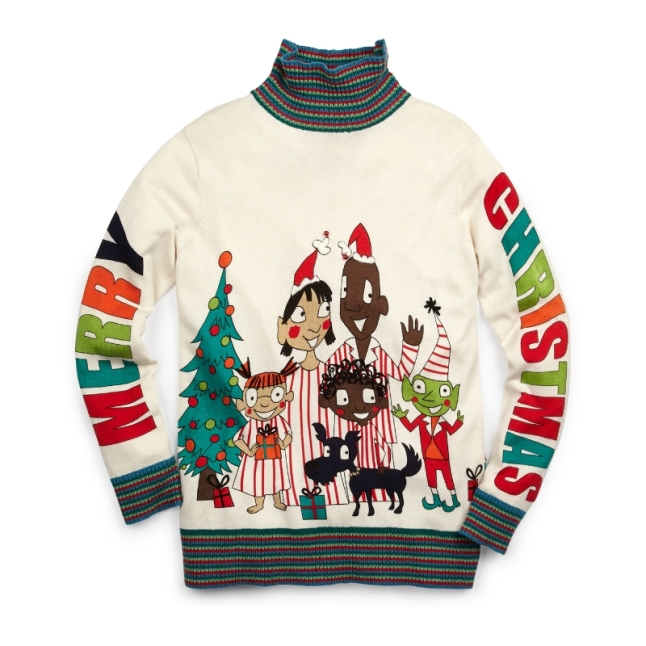Lord and Taylor Whoopi Goldberg Sweater 1