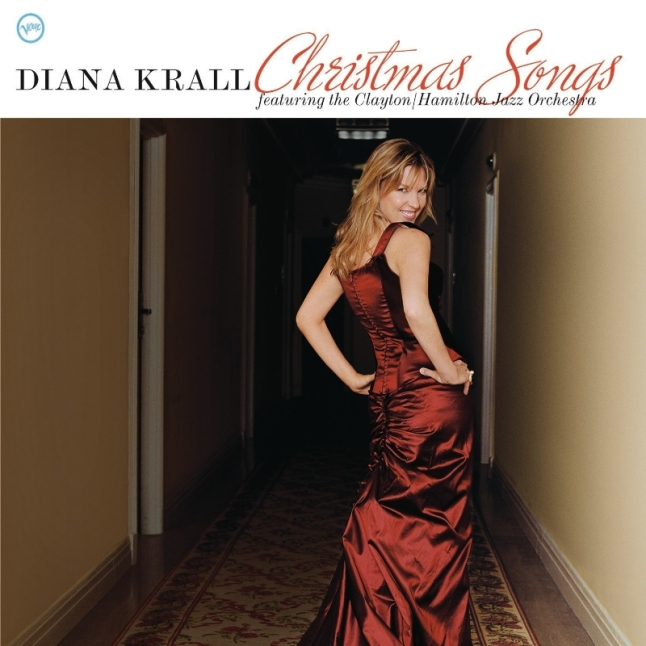 Diana Krall Christmas Songs LP Cover Art