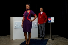 Delta Runway Reveal Above Wing Airport Customer Service vignette (PRNewsFoto/Delta Air Lines)