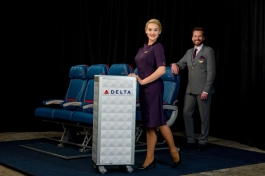 Delta Runway Reveal In-Flight Service vignette (PRNewsFoto/Delta Air Lines)