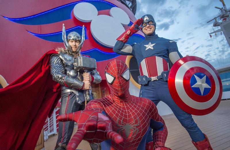 Disney Cruise Line Marvel