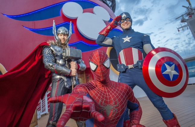 Disney Cruise Line Marvel
