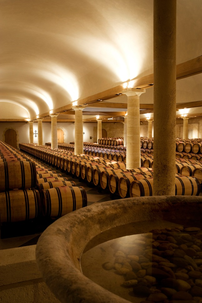 chateau-la-mission-haut-brion-cellar