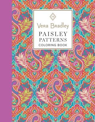 Vera Bradley Paisley Patterns Coloring Book
