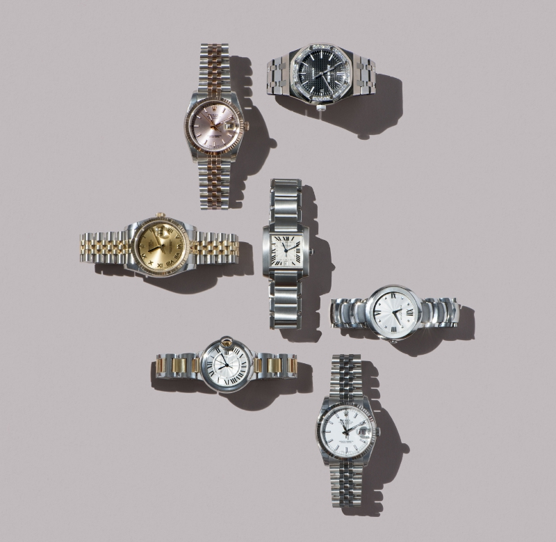 Eleven James watch collection