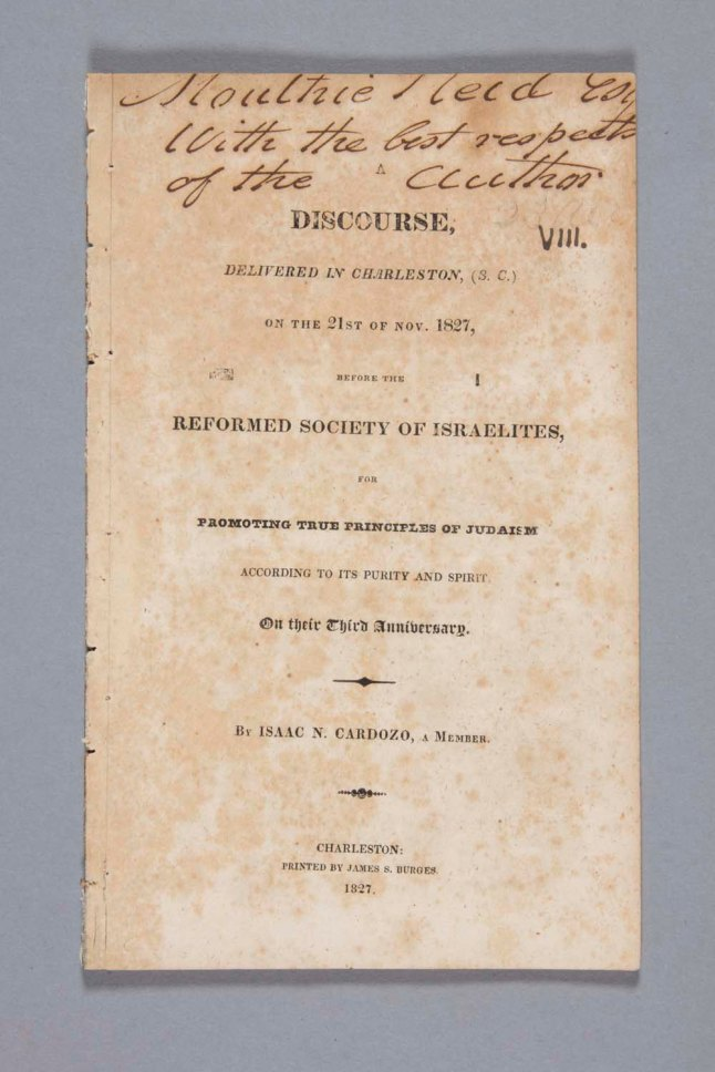 15-isaac-n-cardozo-a-discourse-delivered-in-charleston-on-the-21st-of-nov-1827-before-the-reformed-society-of-israelites
