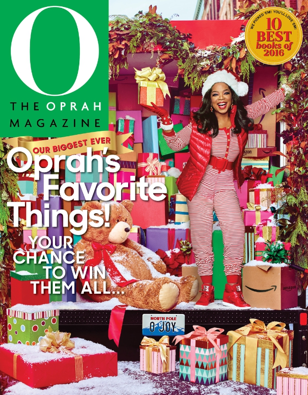 Tempur Sealy named in The Oprah Magazine December 2016 Issue